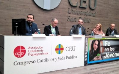 Fe en los jóvenes, título del Congreso  «Católicos y Vida Pública
