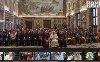 Francisco repasa con jóvenes de todo el mundo las propuestas del sínodo de 2018 – Rome reports