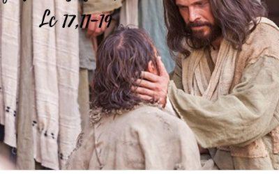Evangelio Lc 17, 11-19 – 13 de octubre