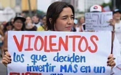 Jóvenes, la clase hoy es en la calle – Miguel Jaimes