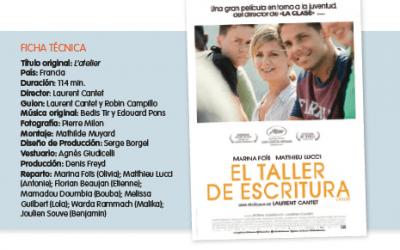 Cine: EL TALLER DE ESCRITURA – José Mª González Ochoa