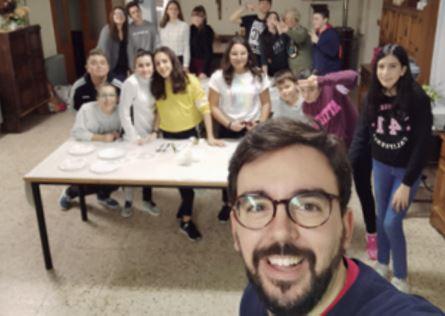 JAVIER, SEMINARISTA    NECESITAS ENCONTRAR TU SITIO – Luis Manuel Suárez