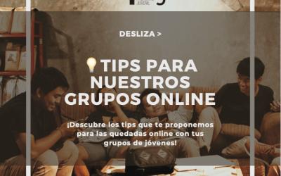 💡Tips para nuestros grupos online este curso – Adrián Pisabarro